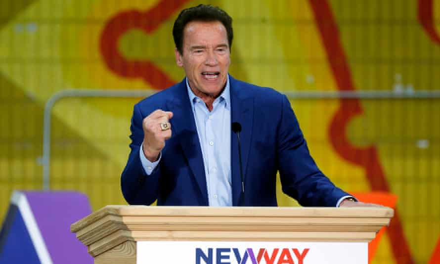 Schwarzenegger's spokesman claimed his first words upon waking from the operation were 'I'm back'.