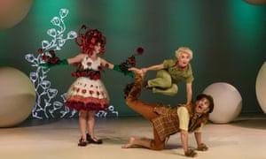The Little Prince, with Donna Lennard, Faith Prendergast and Andrew Gardiner.
