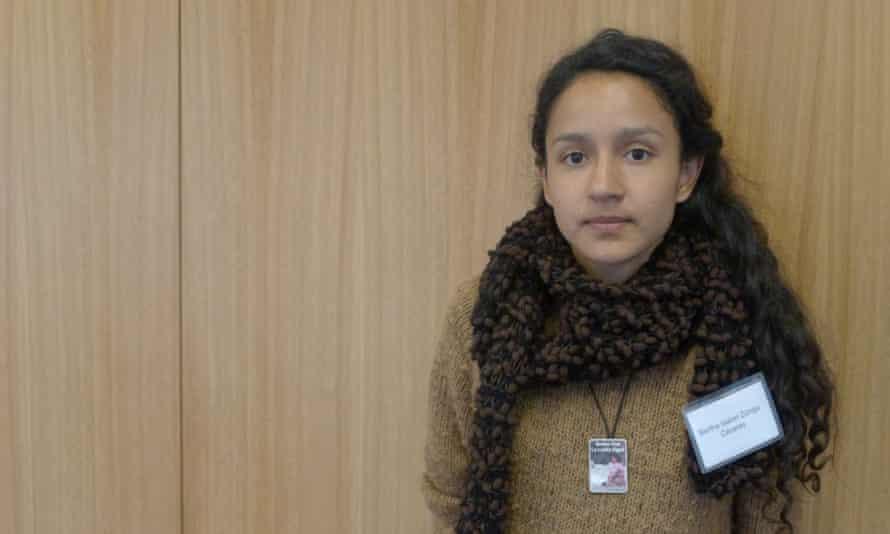Bertha Cáceres, daughter of murdered Honduran environmental activist Berta Cáceres.