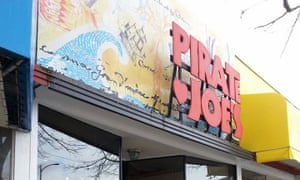 Pirate Joe's re-sells Trader Joe's products in Canada, where there are no Trader Joe's stores.