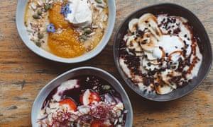 Oat not so simple … porridge from 26 Grains in London.
