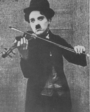 'He carried his violin with him wherever he could,' said Chaplin's friend Stan Laurel.