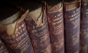 Victorian English dictionaries held by the Lee Library of the British Academy.