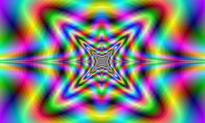 Computer generated fractal image