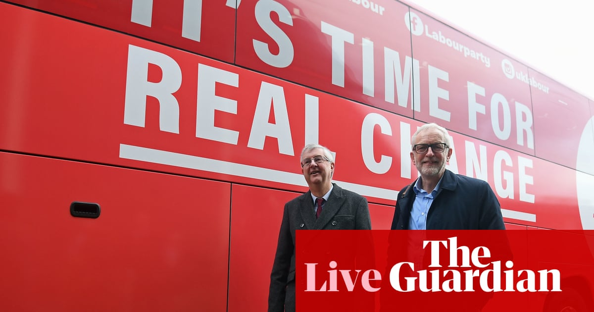 General election: Russia link to NHS documents 'nonsense', say Corbyn – live news