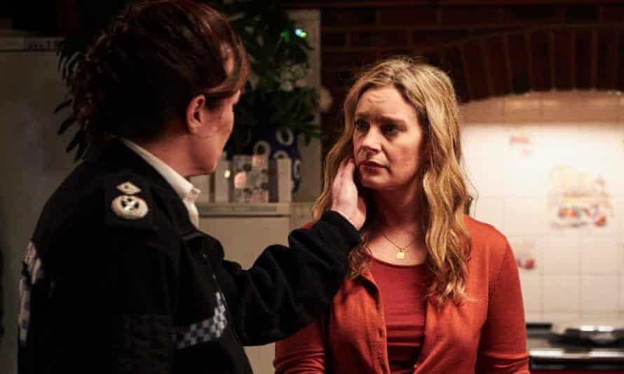A fair cop? Amanda Douge as Janet and Susan Lynch as Liz Baildon in Unforgotten