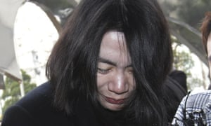 """Cho Hyun-ah, former vice president of Korean Air Lines Co., in December. A flight attendant who was harassed by Cho in what became known as the """"nut rage"""" case filed a civil lawsuit against the airline and the executive."""