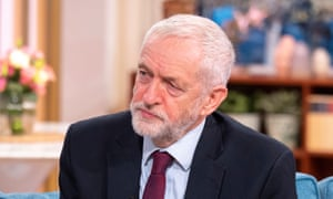 Jeremy Corbyn on This Morning with Richard and Judy.