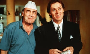 Bruno Ganz, Willem Dafoe in Wim Wender's 1993 movie Faraway, So Close!