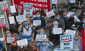 'There's a mismatch between government rhetoric and reality: the NHS is being underfunded while resources are being siphoned off. Its piecemeal breakup and privatisation is under way.'