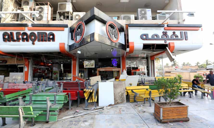 Al-Faqma ice-cream shop in Baghdad