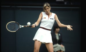 Chris Evert won 18 grand slam titles, including three on Wimbledon's grass despite staying mostly on the baseline.