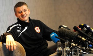 Ole Gunnar Solskjær had an unsuccessful spell as Cardiff manager in 2014 but 'always had integrity'.