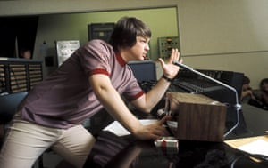 Brian Wilson recording Pet Sounds in Los Angeles in 1966