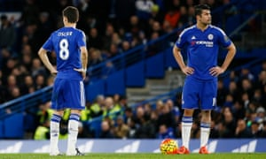 There were issues on the training ground between Oscar and Diego Costa.