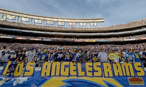 Los Angeles has been without an NFL team since 1995.