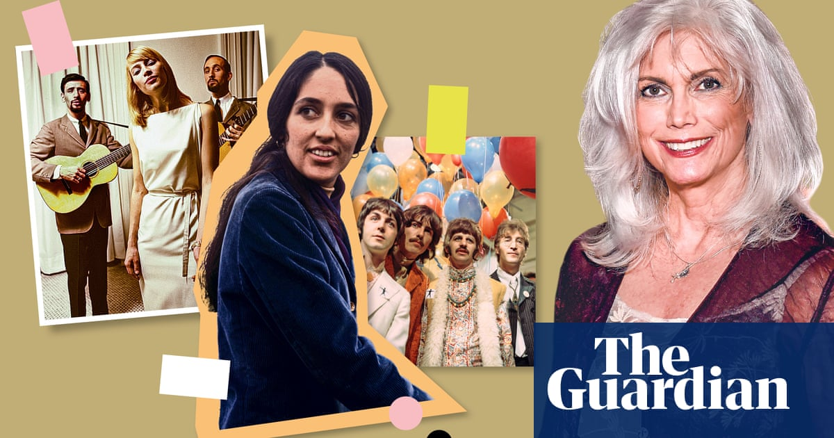 Emmylou Harris's teenage obsessions: 'The Beatles parted the clouds after JFK's assassination'