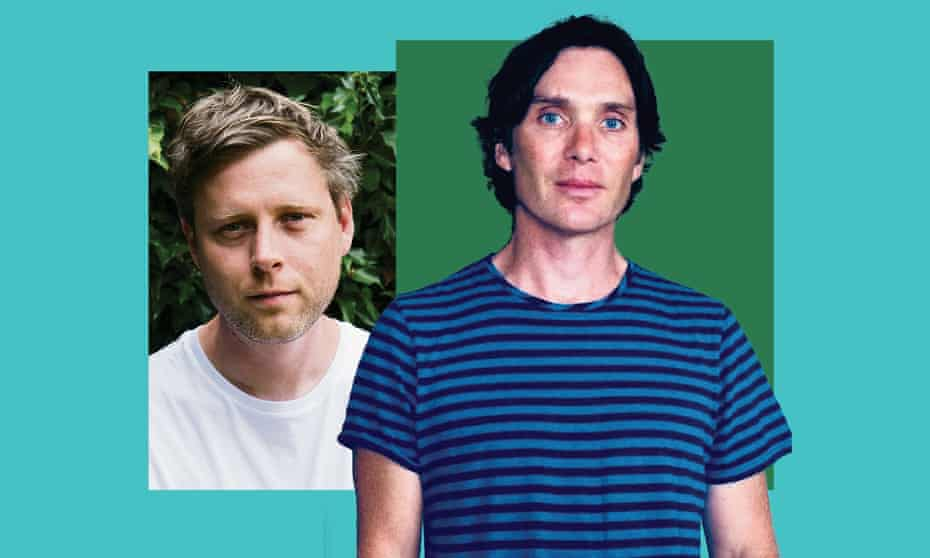 'It was just artist to artist' … Max Porter and Cillian Murphy, who stars in All of This Unreal Time.
