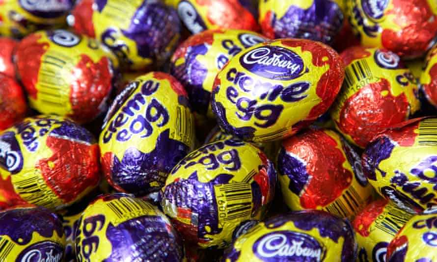 Cadbury Creme Eggs now come in boxes of five not six.