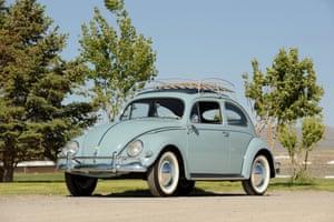 A VW Beetle in 1957
