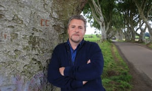 Stephen Gray, co-owner of the Dark Hedges hotel.