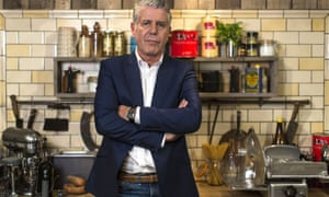Anthony Bourdain on the set of Channel 4's 'Taste' TV show, Pinewood Studios, Buckinghamshire, Britain - 25 Oct 2013