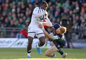 Montpellier wing Gabriel N'Gandebe could earn his first full France cap during the Six Nations.