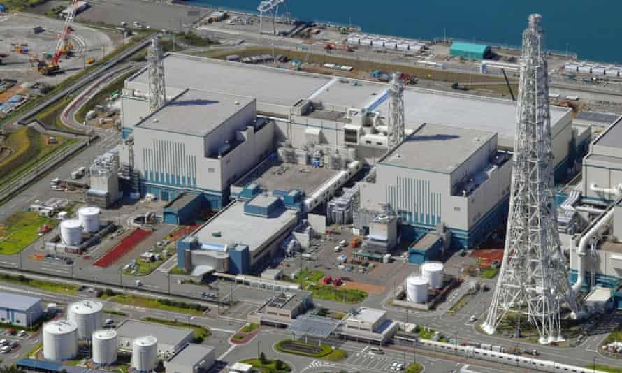 Reactors No 6, right, and No 7 at Kashiwazaki-Kariwa nuclear power plant.