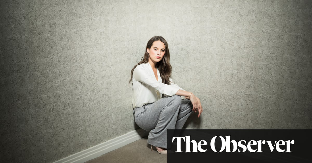Alicia Vikander: 'I made five films in a row before I had a scene with  another woman'
