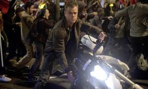 Matt Damon in Jason Bourne.