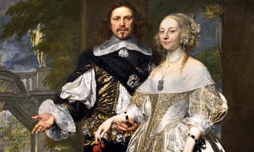 Power couple … Margaret and William Cavendish in 1650.