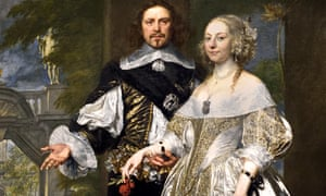 Margaret and William Cavendish, 1650, by Gonzales Coques 1614 - 1684