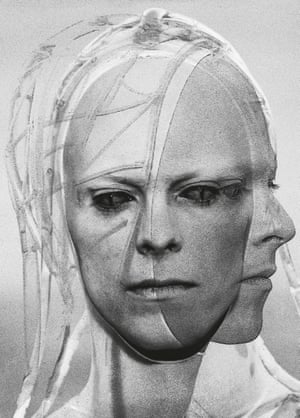 Portrait of the alien known as Thomas Jerome Newton, played by David Bowie.