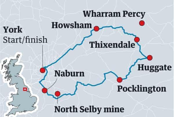 Way of the Wolds map