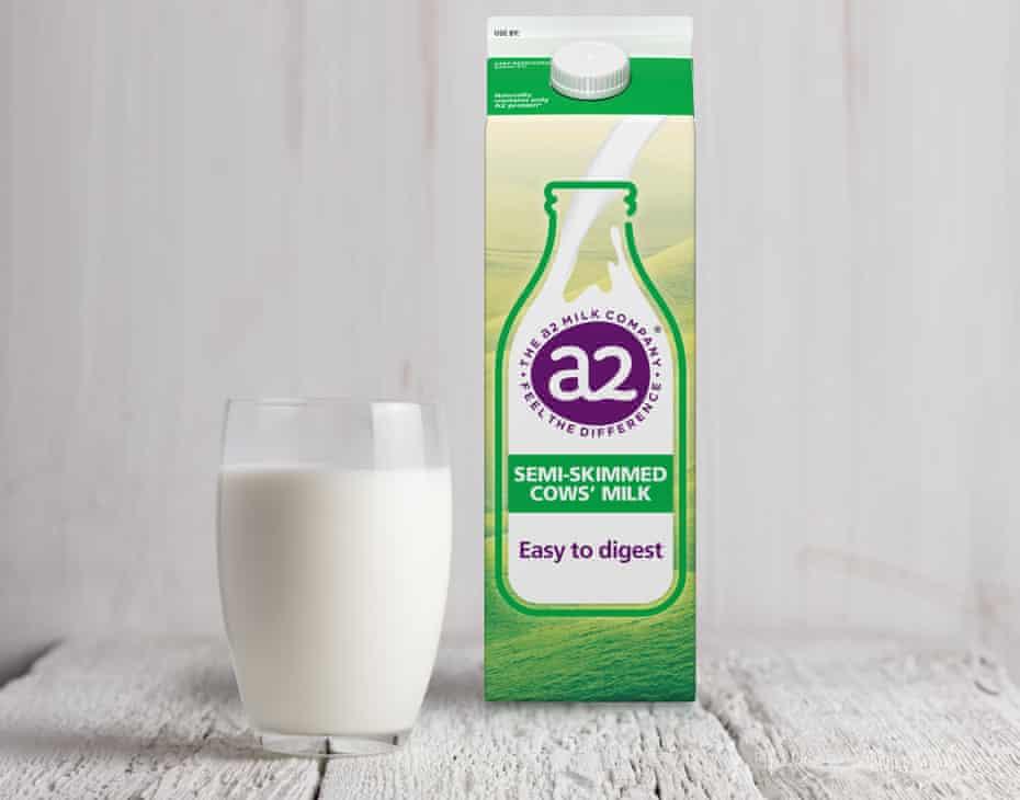 A carton of a2 Milk.