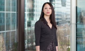 'I'm one of Thatcher's children': Diep Quan, now an IT trainer, at Morgan Stanley in Canary Wharf, London.