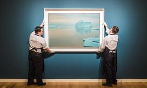 Eisberg by Gerhard Richter