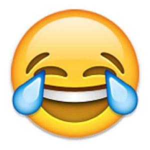 Tears of joy emoji.
