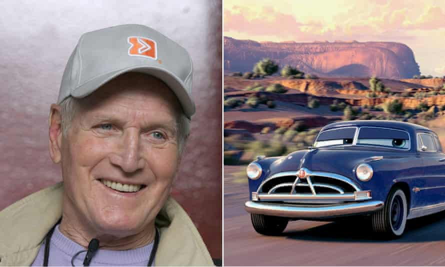 Got it taped ... Paul Newman's voice was used for Doc Hudson in Cars 3