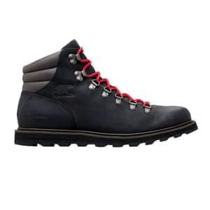 Hiking boots, £160, sorelfootwear.co.uk.