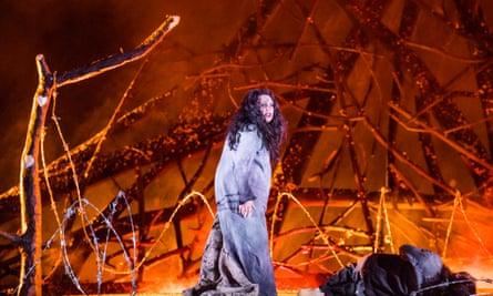 'Wondrous': the Russian mezzo Ekaterina Semenchuk as Azucena in Il trovatore at Covent Garden.