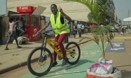 Luwum Street was cleared of cars for three days to raise awareness of urban development plans.
