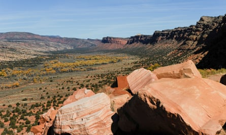 Trump announced plans to slash the size of Bears Ears national monument in Utah.