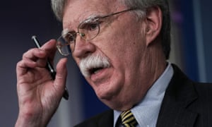 National security adviser John Bolton has issued a recommendation for withdrawal from the 1987 intermediate-range nuclear forces treaty.