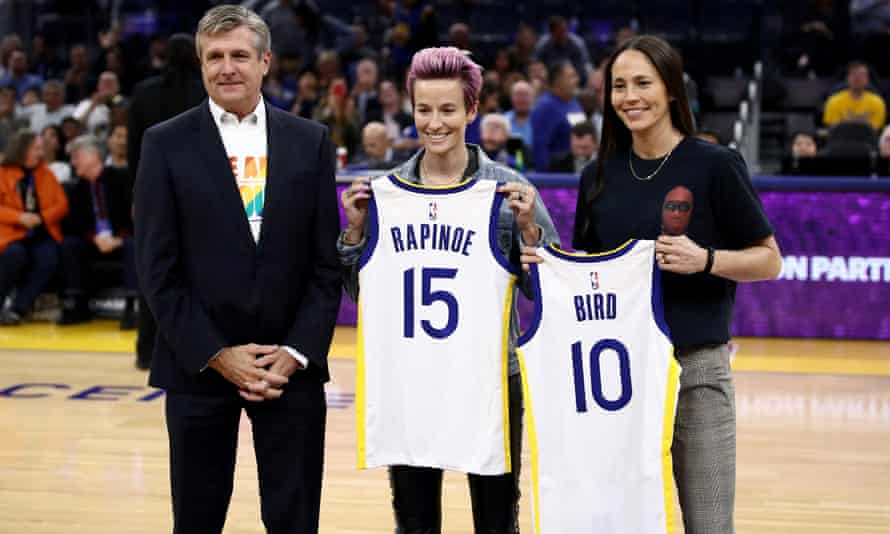 Megan Rapinoe and Sue Bird announced their engagement in October.