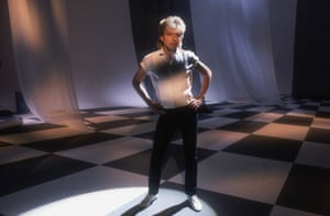 David Cassidy recording the video for the single Romance (Let Your Heart Go), which charted in 1985