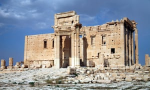 Temple of Bel Roman ruins, Palmyra, Syria, shot in May 2009