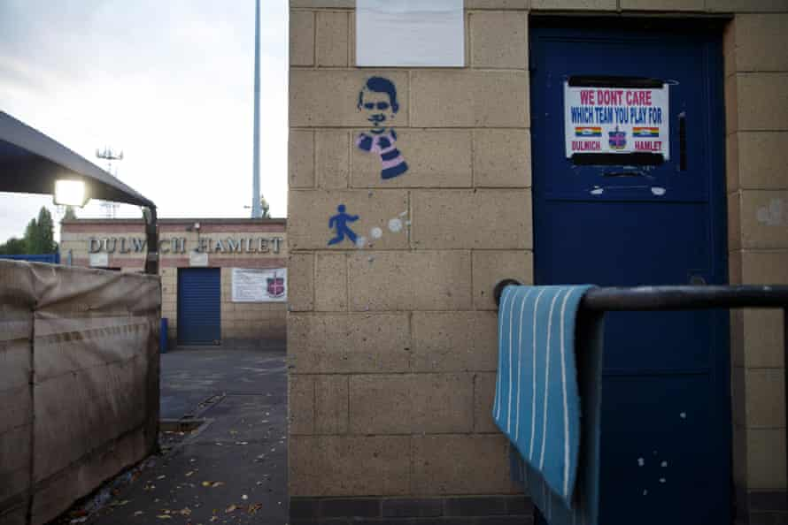 Dulwich Hamlet FC's Champion Hill ground.