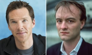 Benedict Cumberbatch and Dominic Cummings. Cumberbatch is to star in a 'knotty, topical' drama for Channel 4.