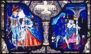 The Eve of St Agnes Window by Harry Clarke, the panels of which Nicola Gordon Bowe found dismantled under a bed.
